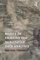 Modes of Thinking for Qualitative Data Analysis PDF