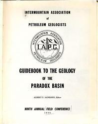 Field Conference Book PDF