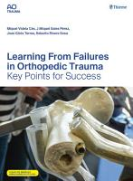 Learning From Failures in Orthopedic Trauma PDF