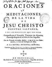 Oraciones y meditaciones de la vida de Jesu Christo