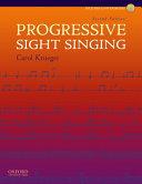 Progressive Sight Singing