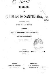 Historia de Gil Blas de Santillana: Volumen 2
