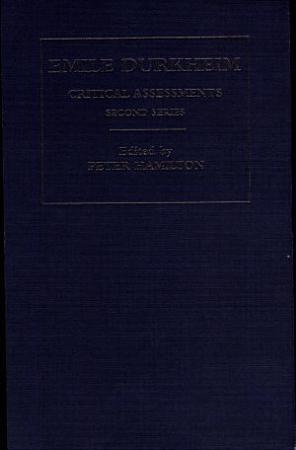 Emile Durkheim PDF
