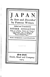 Japan as seen and described by famous writers