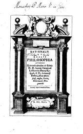 Rationalis et realis Philosophia