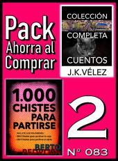 Pack Ahorra al Comprar 2 (Nº 083): 1000 Chistes para partirse & Colección Completa Cuentos De Ciencia Ficción y Misterio