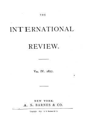 The International Review PDF