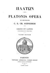 Platonis opera: Volumes 2-3