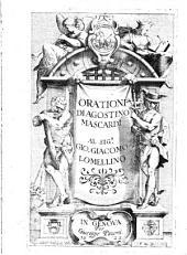 Orationi di Agostino Mascardi al sig.r Gio. Giacomo Lomellino