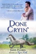 Done Cryin'