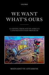 We Want What S Ours Book PDF