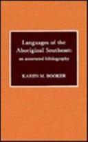 Languages of the Aboriginal Southeast PDF