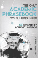 The Only Academic Phrasebook You Ll Ever Need Book PDF