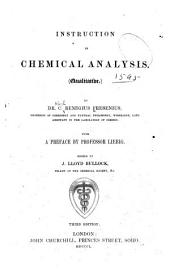 Instruction in Chemical Analysis. (Qualitative.)