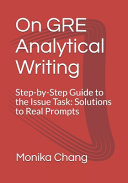 On GRE Analytical Writing PDF