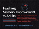 Teaching Memory Improvement to Adults