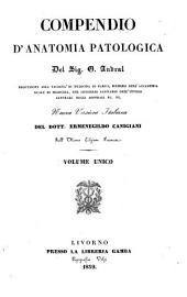 Compendio d'anatomia patologica Del Sig. G. Andral