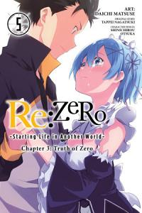 Re ZERO  Starting Life in Another World   Chapter 3  Truth of Zero  Vol  5  manga  Book