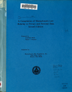 A Compilation of Massachusetts Law Relating to Privacy and Personal Data PDF