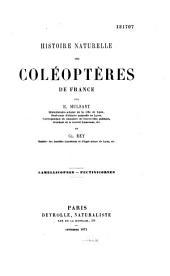 Histoire naturelle des coléoptères de France: Volumes24à29