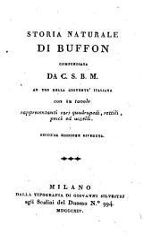 Storia Naturale Di Buffon Compendiata Da C. S. B. M. (etc.)