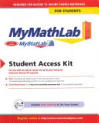 Mymathlab Mystatlab Student Access Code Card Book PDF