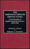 The Twentieth-century German Novel