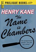 The Name is Chambers PDF