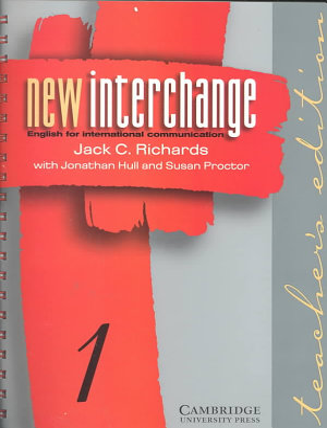 New Interchange Teacher s Edition 1 PDF
