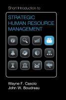 Short Introduction to Strategic Human Resource Management PDF