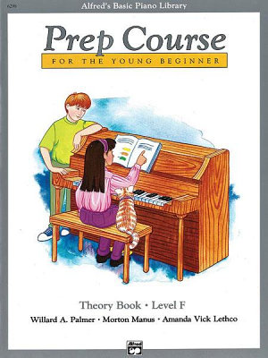Alfred s Basic Piano Prep Course  Theory Book F