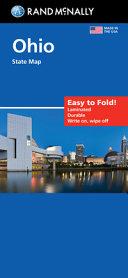 Rand McNally Easy to Fold: Ohio State Laminated Map