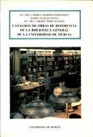 Cat  logo de obras de referencia de la Biblioteca General de la Universidad PDF