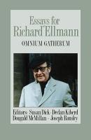 Essays for Richard Ellmann PDF