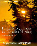 Ethical   Legal Issues in Canadian Nursing PDF