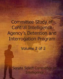 Committee Study of Central Intelligence Agency's