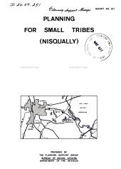 Report - United States, Bureau of Indian Affairs, Planning Support Group: Volume 237