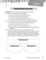 Tuck Everlasting Comprehension Assessment