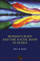 Woman s Body and the Social Body in Hosea 1 2 PDF