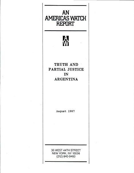 Download Truth and Partial Justice in Argentina Book
