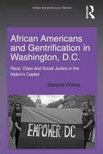 African Americans and Gentrification in Washington  D C  PDF