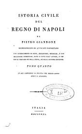 Istoria civile del Regno di Napoli: Volume 4