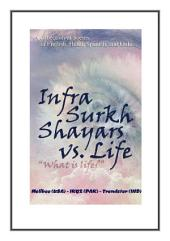 Infra-Surkh Shayars: What is Life?