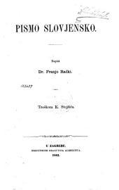 Pismo slovjensko