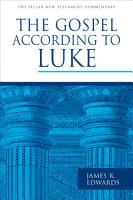 The Gospel according to Luke PDF