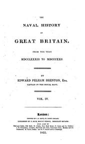 The naval history of Great Britain, from ... 1783