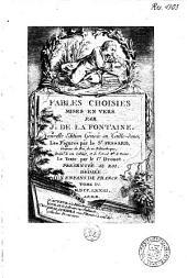 Fables choisies, mises en vers par J. de La Fontaine: Nouv. éd. gravée en taille-douce. Les figures par le Sr. Fessard. Le texte par le Sr. Montulay [et Droüet]., Volume4
