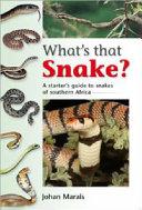 What s that Snake  PDF