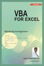 VBA For Excel: Absolutely for Beginner