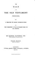 The Text of the Old Testament Considered PDF